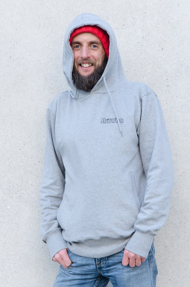 Adam in hoody