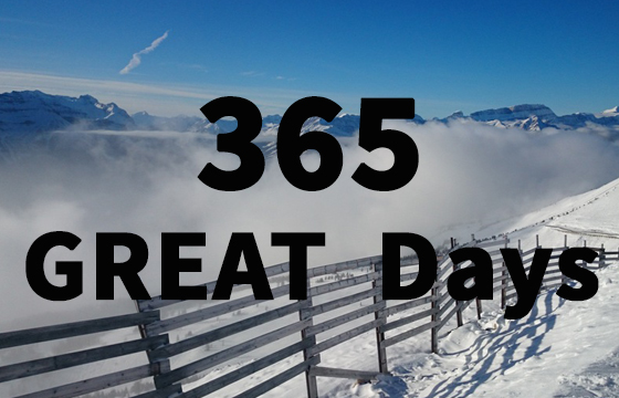 A Great Feat: 365 great days